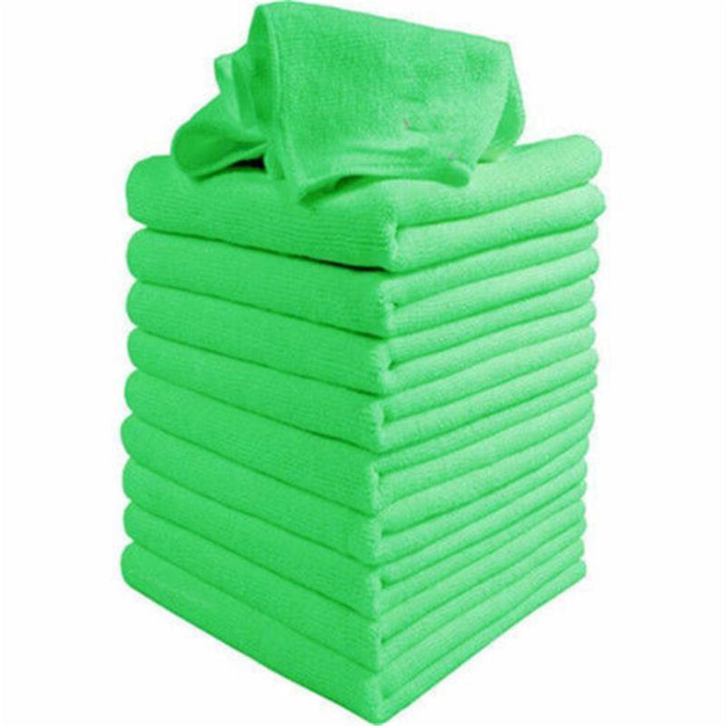 10PCS Car Microfibre Auto Car Cloths Wash Towel