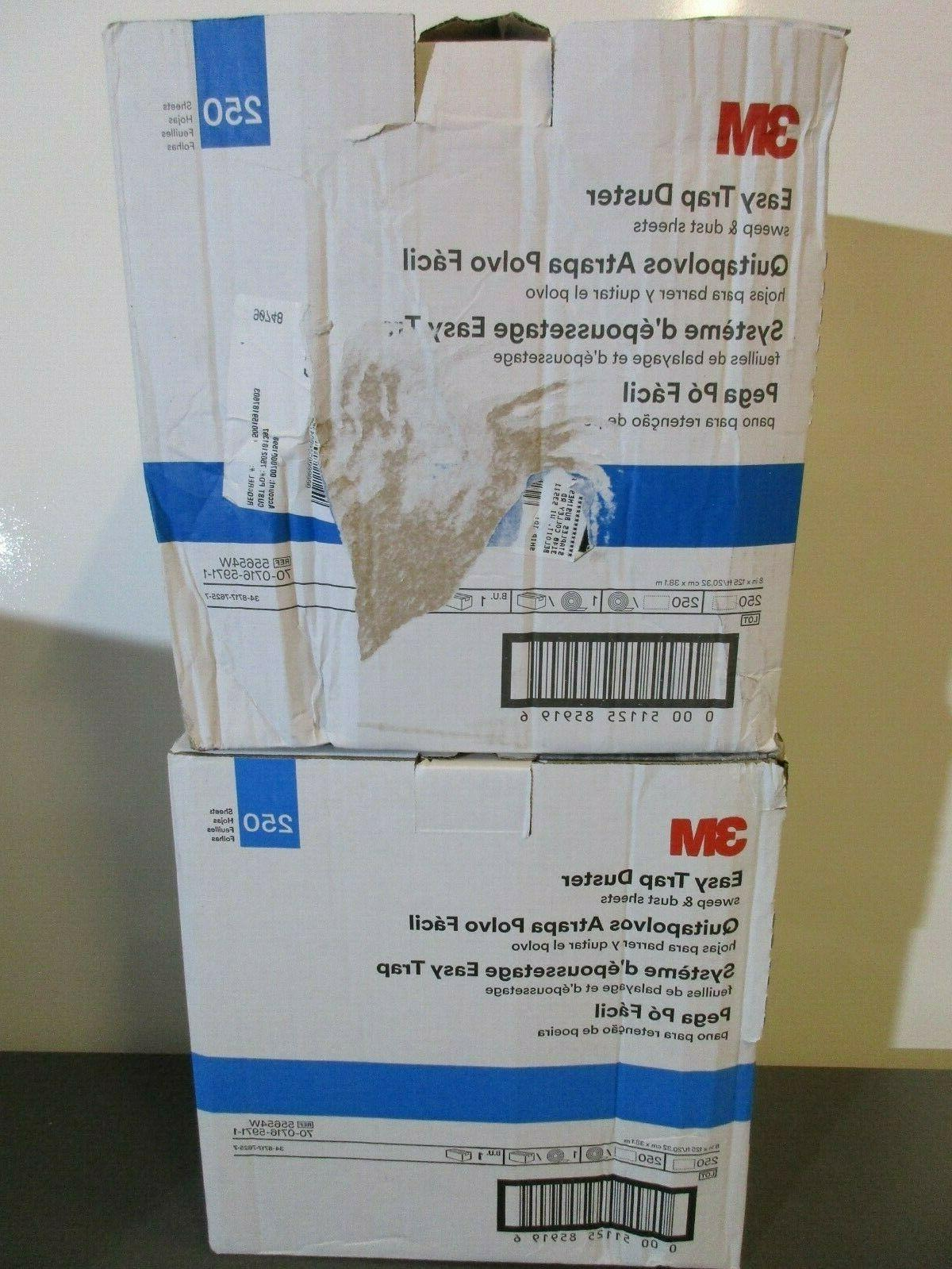 2 boxes easy trap duster sheets 55654w