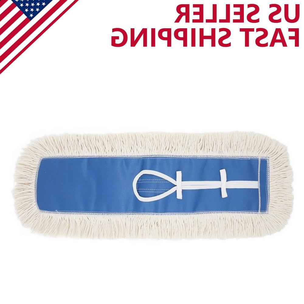 24 industrial strength cotton dust mop head