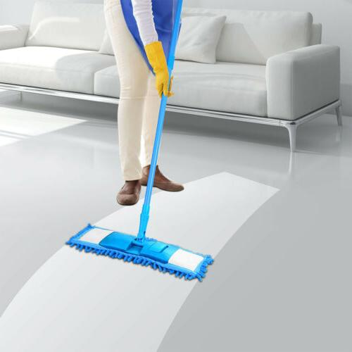 Floor Dust Cleaning Washable Pads Kit