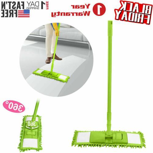360 rotating microfiber mop hardwood floor dust