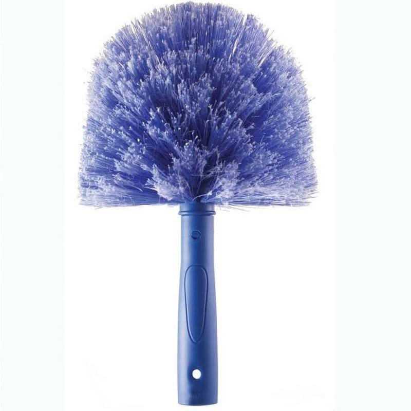 Ettore 48221 Cobweb Brush Duster Blue NEW
