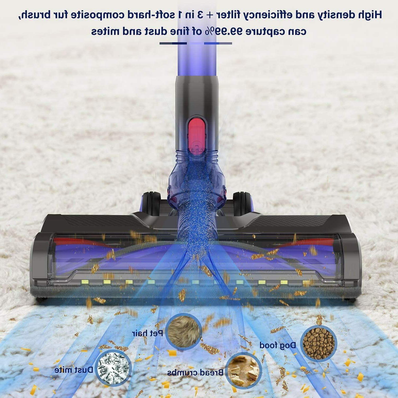 5-in-1 Cordless Vacuum HEPA for Home Carpet US