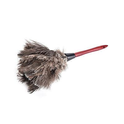 40cm Wooden Handled Ostrich Feather Duster Dust Cleaning