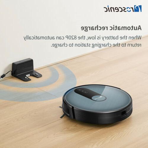 Proscenic Robot Vacuum Cleaner Carpet Floor With 2D Map