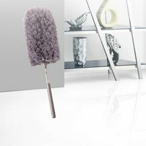 Adjustable Feather Duster Household Microfiber Cleaning H5W7D