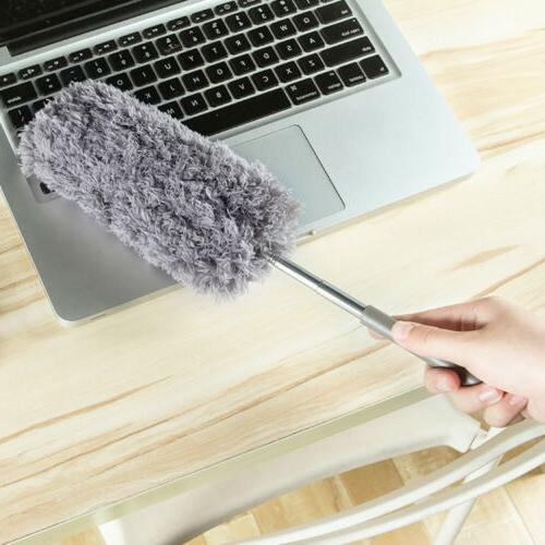 Durable Soft Microfiber Feather Duster Dusting Brush Househo