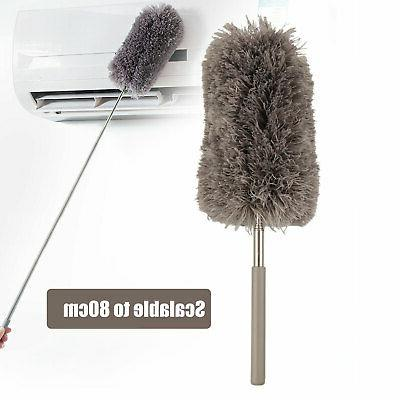 adjustable soft microfiber feather duster dusting brush