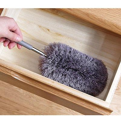 Adjustable Soft Feather Duster Brush Cleaning