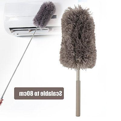 Adjustable Microfiber Duster Dusting Brush Cleaning
