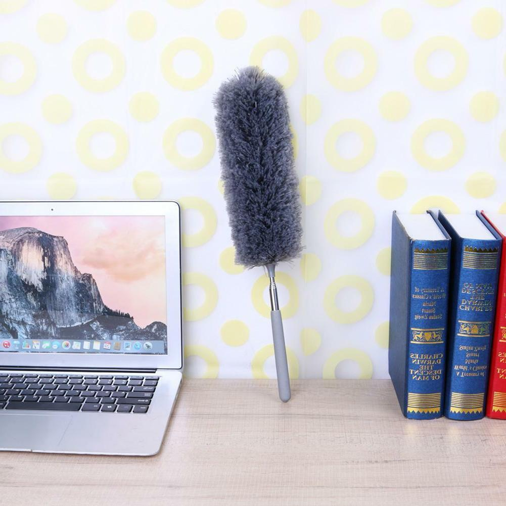 Adjustable Microfiber Duster Dusting Brush