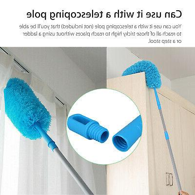 Bendable Microfiber Duster Dusting Brush Cleaning Tool Washable