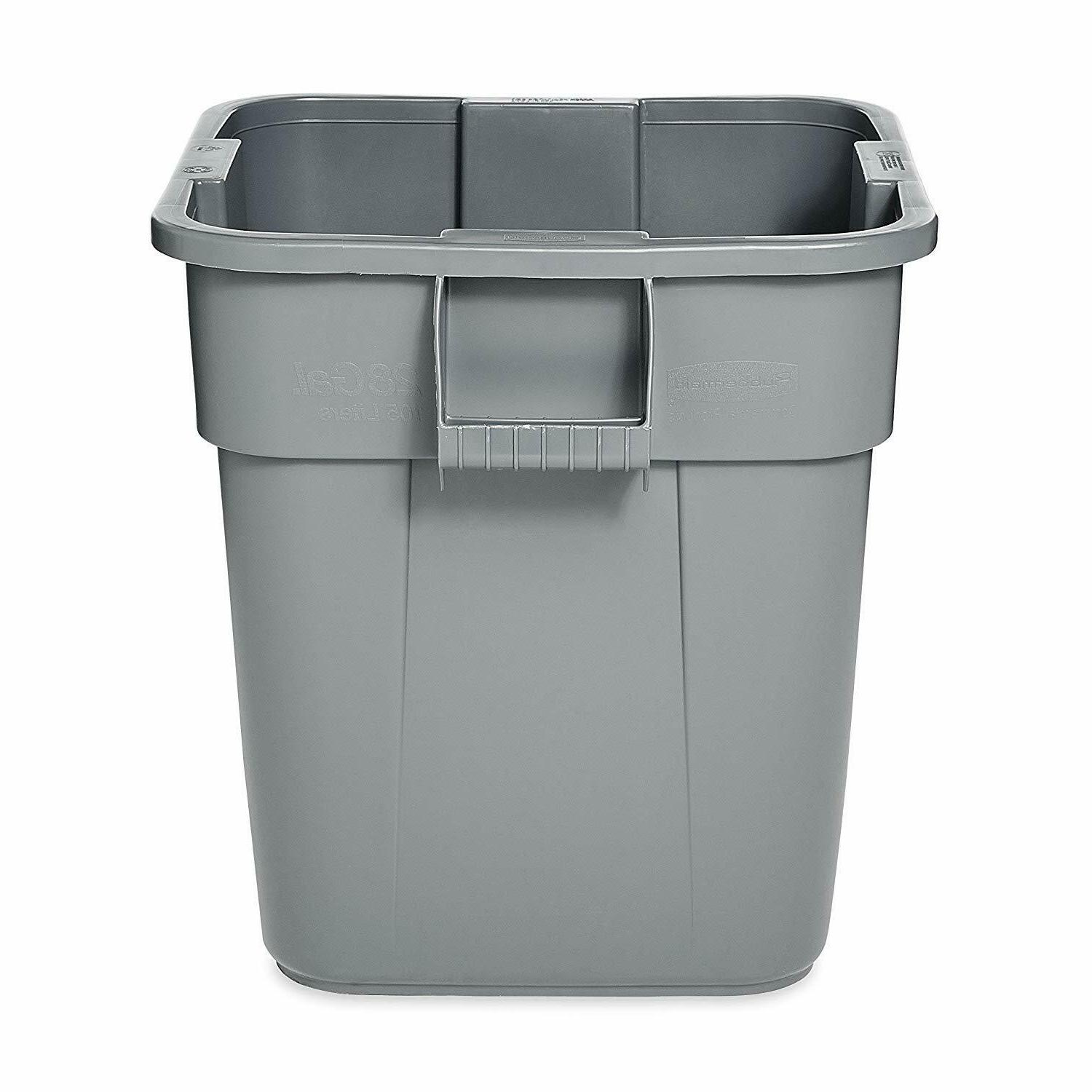 Rubbermaid Commercial Products BRUTE Square without