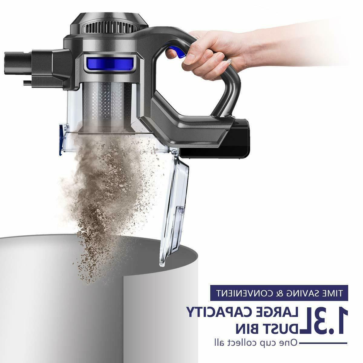 MOOSOO XL-618 10Kpa 4 in Stick Vacuum Carpet