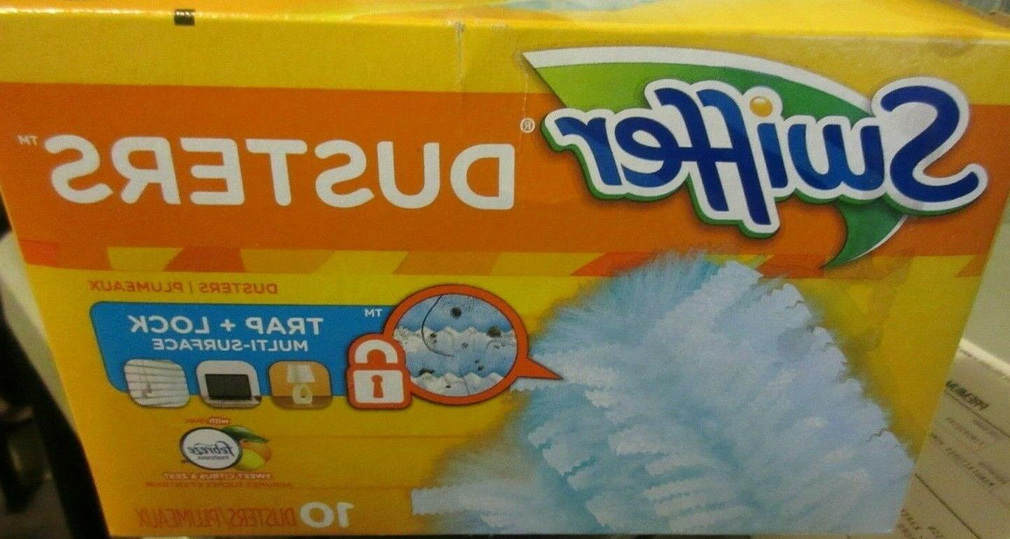 Swiffer Dusters Refills with & Zest Scent, 10 Count
