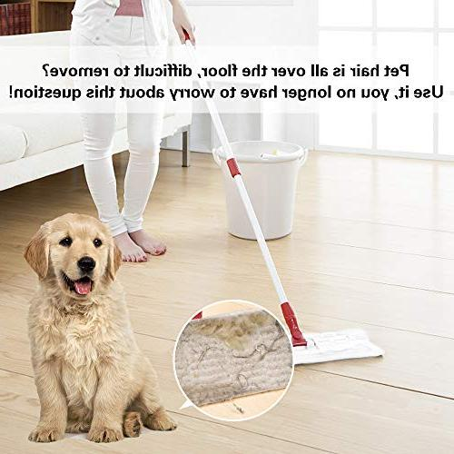 X Sweeping Refills Dry Refills Static Charged Sweeping Duster Mop Disposable for Cleaning Starter Floor x