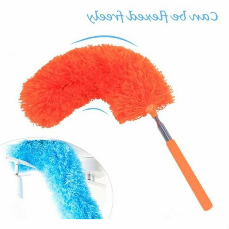 Dusting Cleaning Soft Microfiber Telescopic Brush Extendable