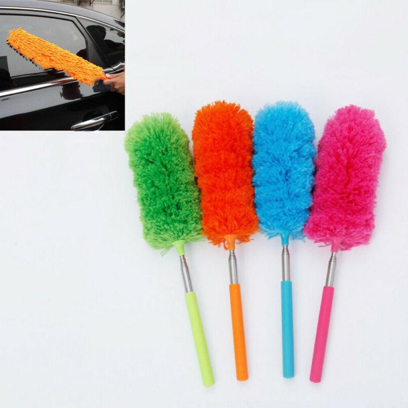 dusting house cleaning soft microfiber telescopic duster