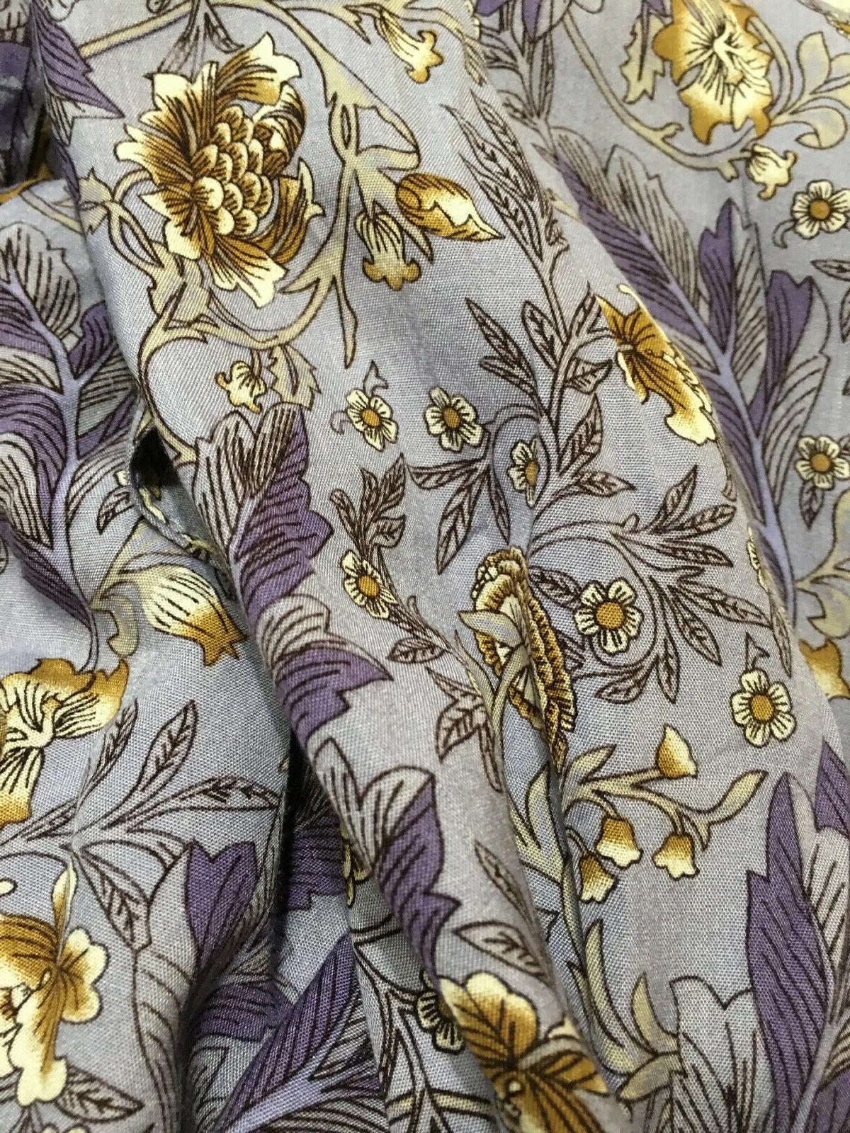 Floral Paisley Duster Kimono Coverup
