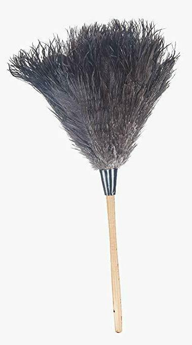 Feather Ostrich Fur Dust Brush Tools With Handle