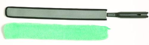 Rubbermaid Commercial FGQ85200WH00 Series Microfiber Duster Green