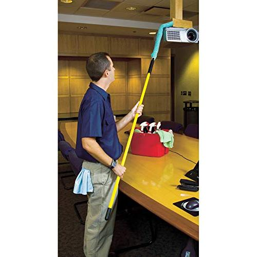 Rubbermaid Commercial Executive Series Flexible Microfiber Duster Green