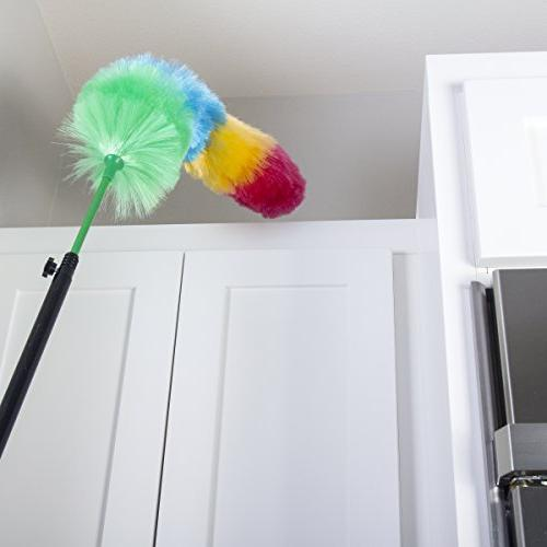 """Kitchen 27"""" with Bonus Extension Feather Duster attracts dust like magnet! - Assorted Ship"""