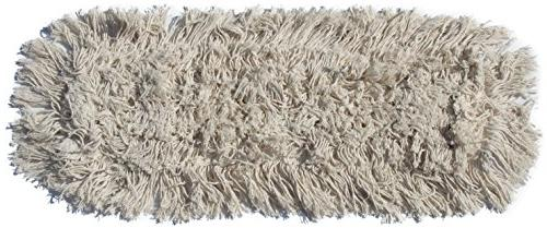 Nine Commercial Strength Ultimate Dust with Aluminum Handle Hardwood Mop
