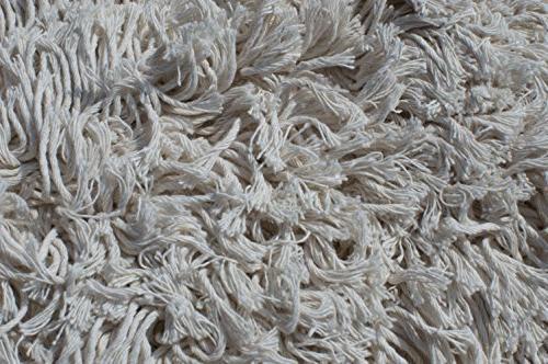 Nine Commercial Strength Cotton Dust Mop Head with Aluminum Quick Change Handle Hardwood Floor Mop