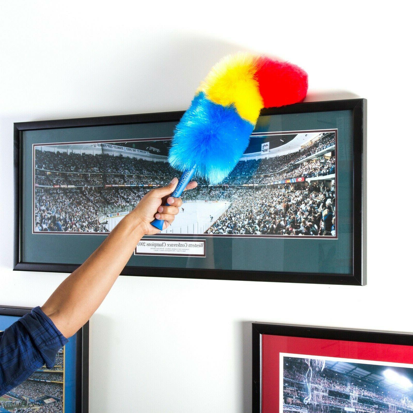 """Kitchen + 18"""" Rainbow Feather Duster"""