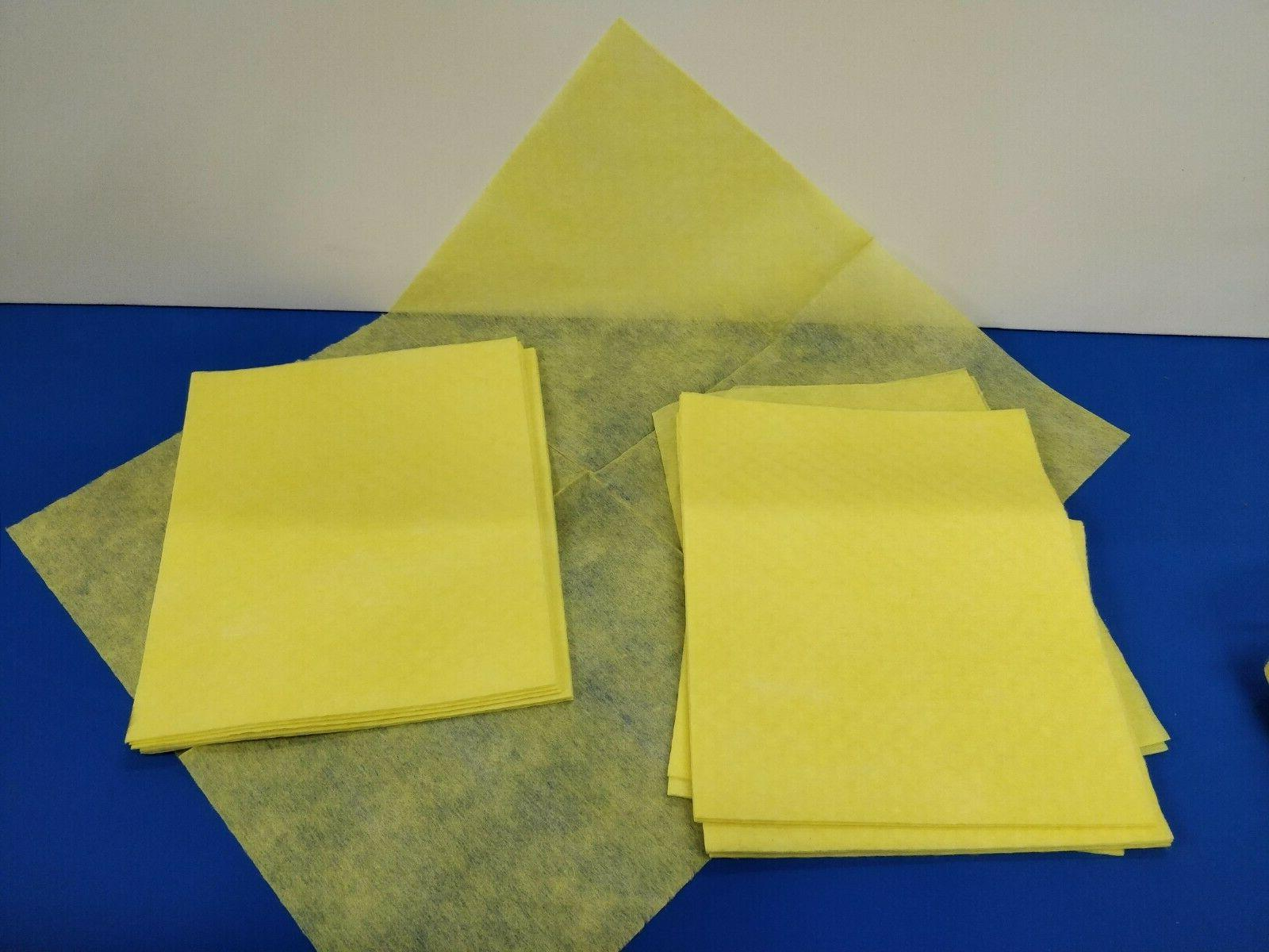 """Large 13"""" X 17"""" Yellow 50 Pack"""