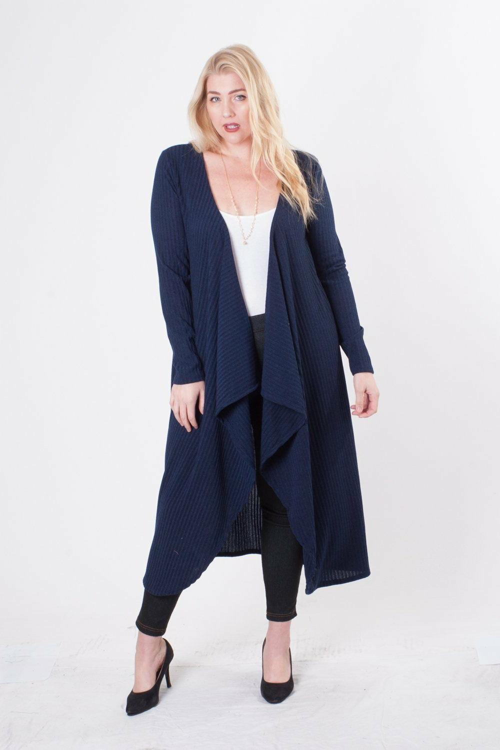 long maxi duster cardigan sweater lightweight open