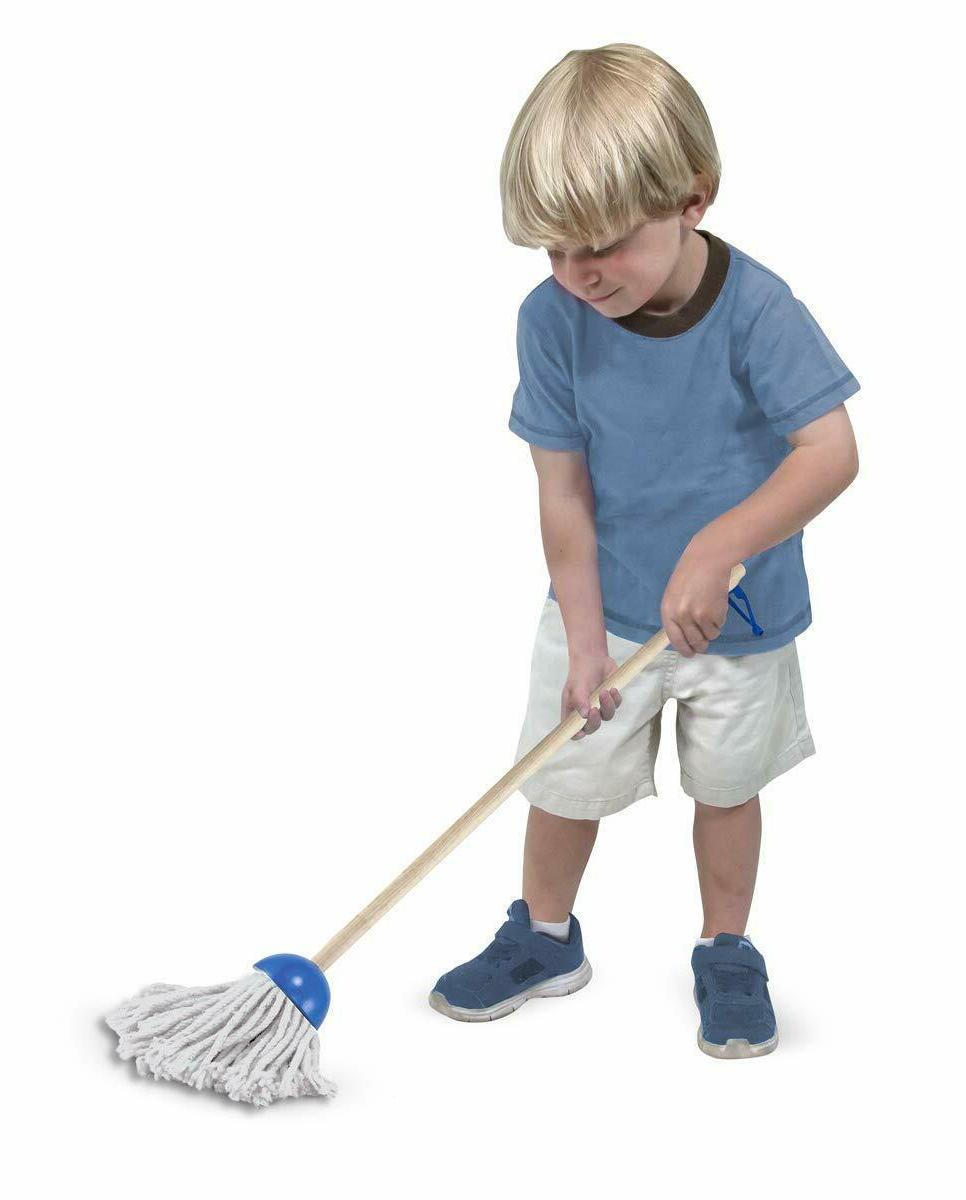 Melissa Doug, Let's Play House! Sweep! Mop! Set