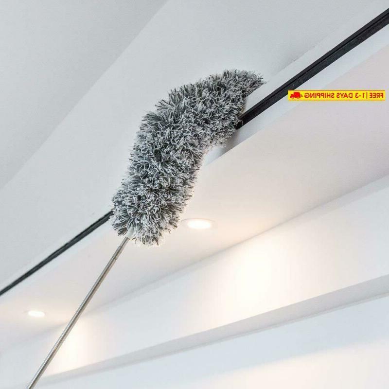 microfiber extendable duster washable bendable head reach