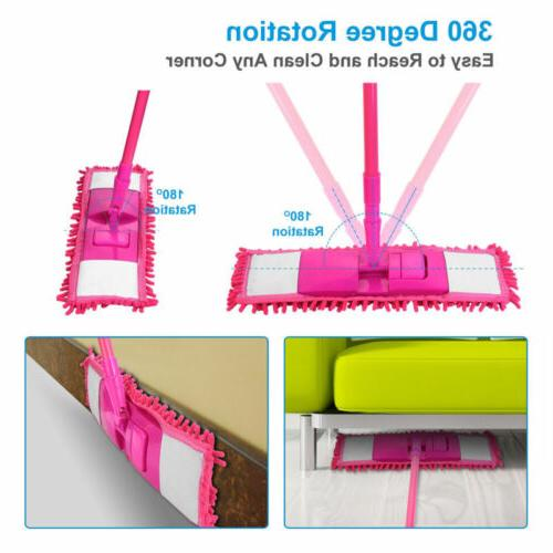 Microfiber Mop Dust Hairs Cleaning