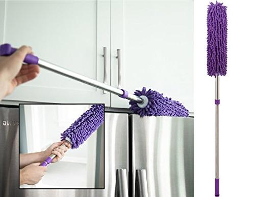 Microfiber Dusters 3-Pack| 1x Duster, & Duster Heart & Kitchen & Automotive Cleaning Supplies