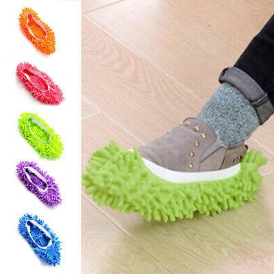 1PC Mop Dust Mops & Pads Slippers Shoe Multi-Function Duster