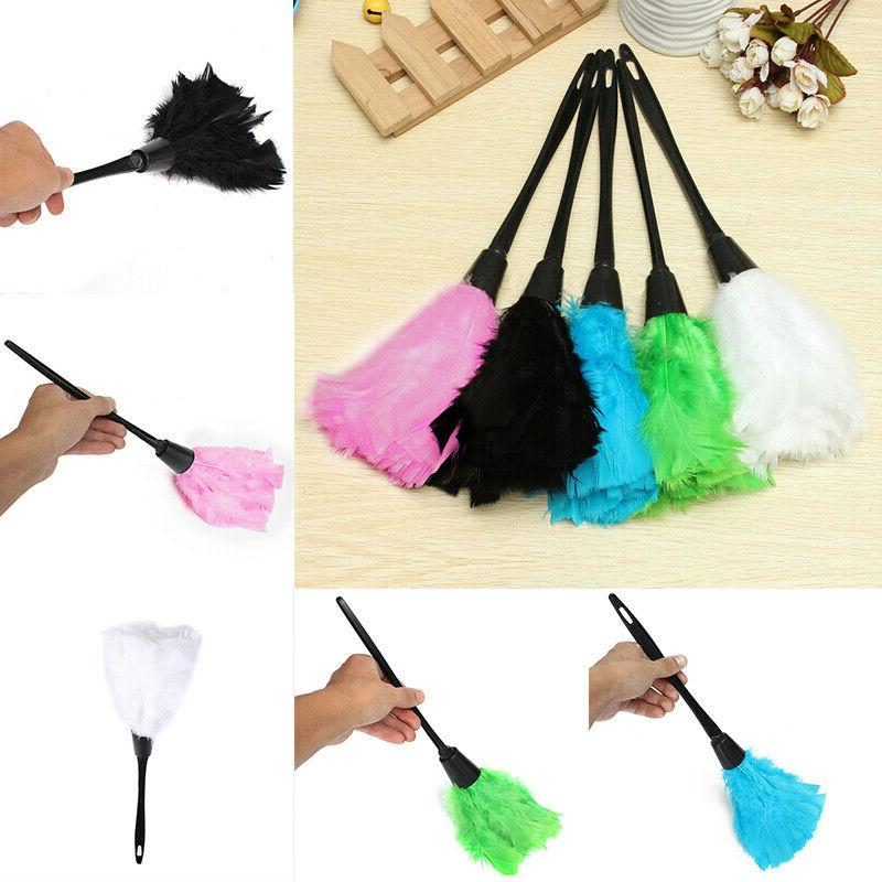 Multi-color Turkey Duster with Plastic Handle Cleaning