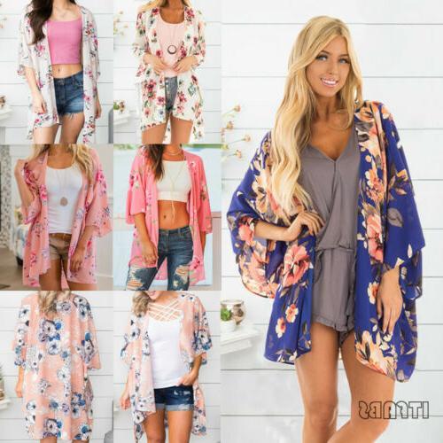 New Kimono Cardigan Duster Shawl Boho