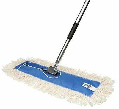 USA 24 Inch Commercial Cotton Dry Dust Mop Head Hardwood Flo