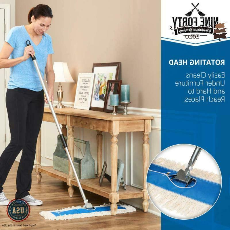 Nine Inch Dust Mop Head Floor
