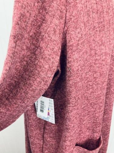NWT Heathered Sarah Duster Cardigan