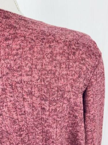 NWT LuLaRoe Pink Heathered Sarah Cardigan