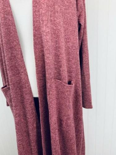 NWT LuLaRoe Dusty Heathered Sarah Kimono Cardigan XL USA