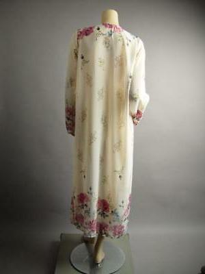 Plus Long Maxi Sheer Robe 242 mv 1XL 2XL 3XL