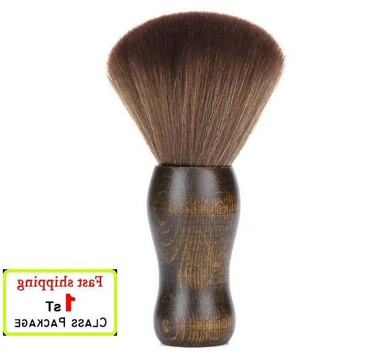 real wood neck duster brush high quality