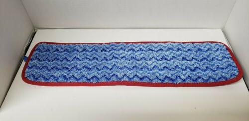 Rubbermaid Commercial HYGEN Dust Mop Pad, Blue