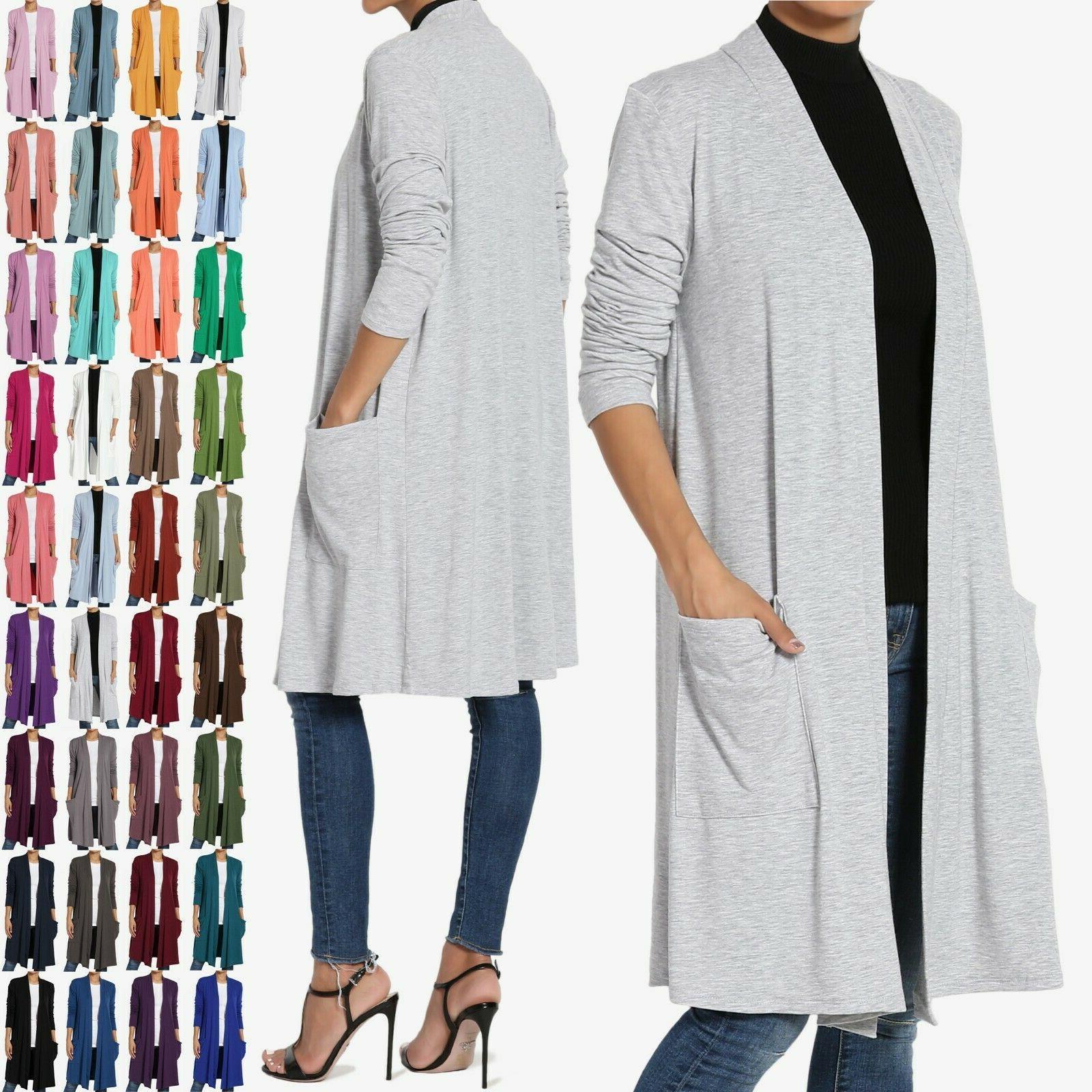 s 3x casual long sleeve pocket open