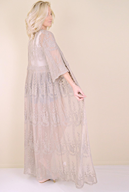 Women's Kimono Long Duster Cardigan