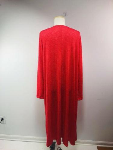 LuLaRoe Sarah Long Red Medium NWT